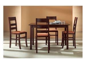 Immagine di LORY 415, sedie pranzo legno