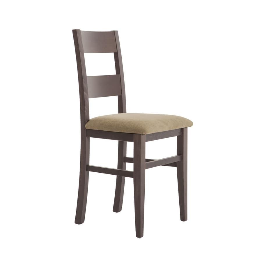 Sedia da pranzo in legno | IDFdesign
