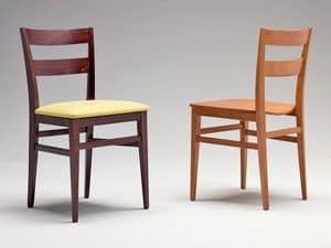 Immagine di SE 047, sedie legno schienale decorato
