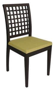 Us Nest, Sedia moderna per ristorante, sedia in legno per pizzeria