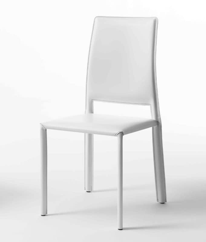 Excellent sedie rosse pelle sedute sedie moderne rivestite for Sedie calligaris pelle