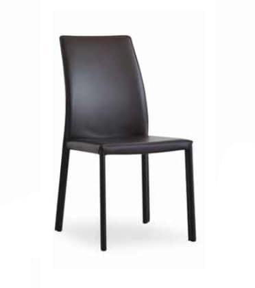 Sedie In Pelle Per Sala Da Pranzo.Sedia In Cuoio Per Sala Da Pranzo Idfdesign