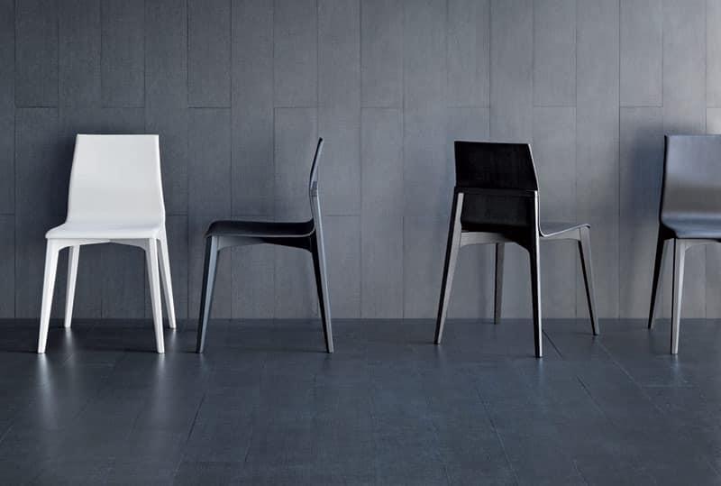 Karma sedie pranzo classiche pelle eventi idfdesign - Sedie pranzo design ...