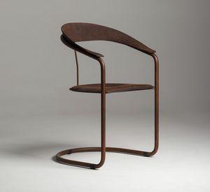 Parabolica sedia, Sedia con struttura a sbalzo, in stile vintage