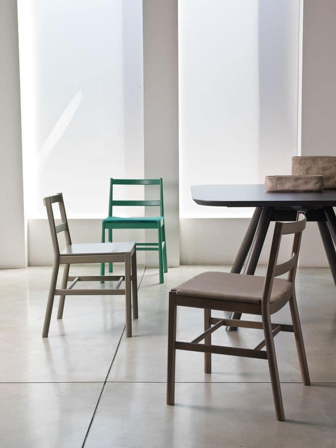 Sedie imbottite design design casa creativa e mobili - Sedie in legno design ...