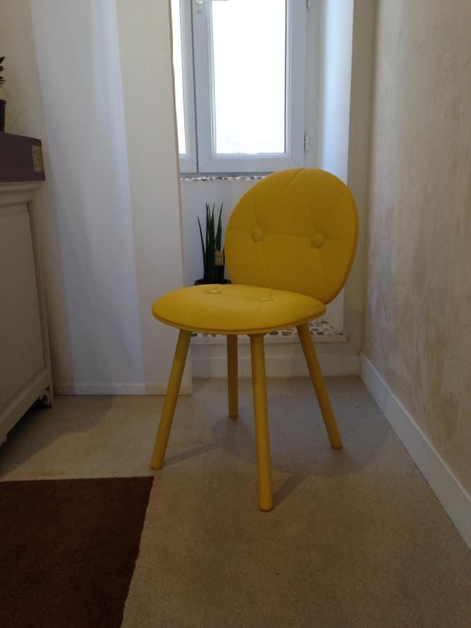 Sedia confortevole e robusta in stile svedese in faggio for Sedia design svedese
