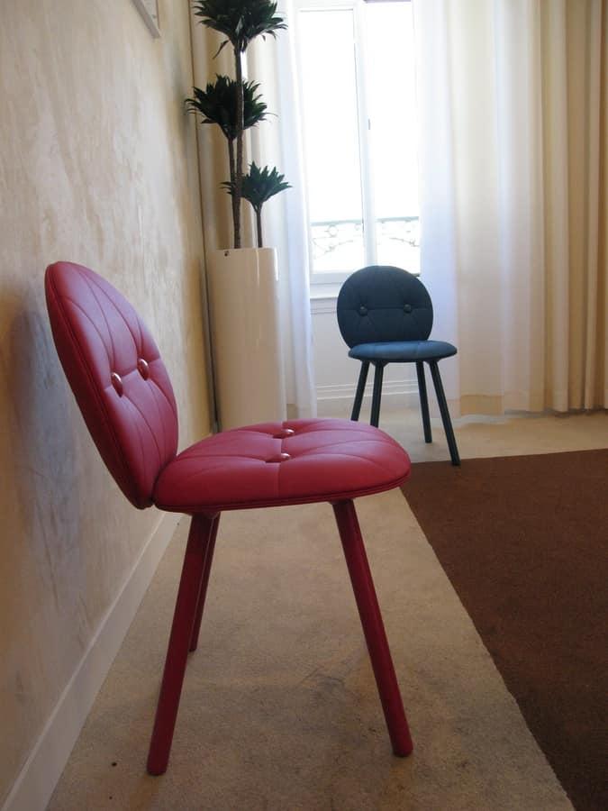 Sedia confortevole e robusta, in stile svedese, in faggio ...