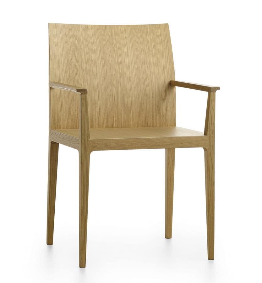 Poltroncina in legno imbottitura disponibile idfdesign - Sedie in legno design ...