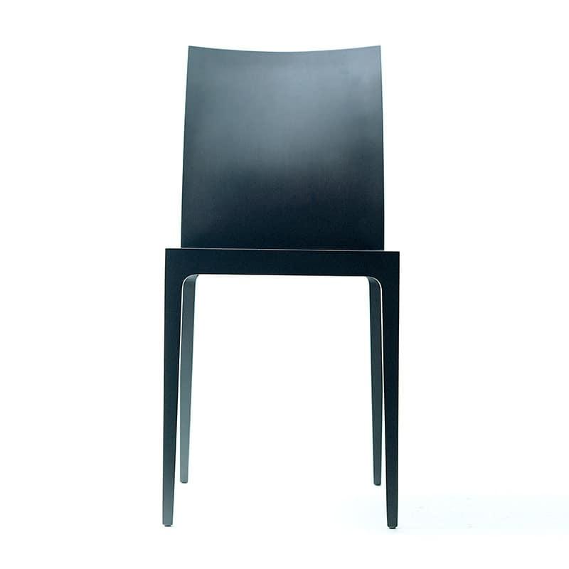 Sedia minimale in legno varie versioni per sala d 39 attesa for Sedie design legno naturale
