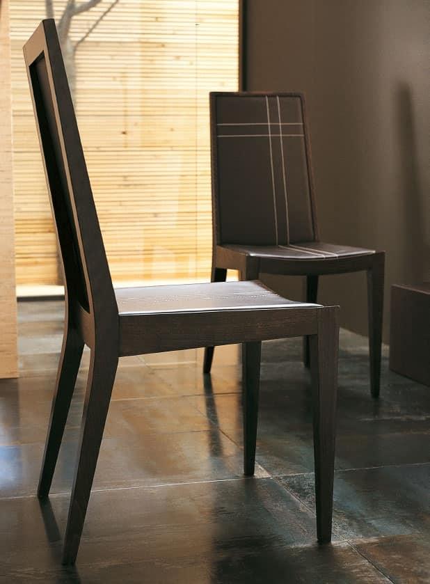 Sedie legno design sala d 39 attesa idfdesign - Sedie design legno ...