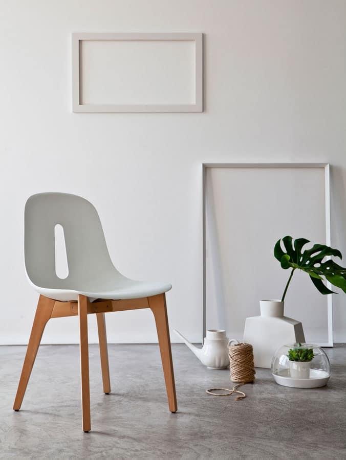 gotham w sedia legno studio interior design idfdesign