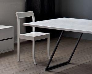 Jim Slim colour, Sedia in legno, laccata, per pizzerie bar e ristoranti