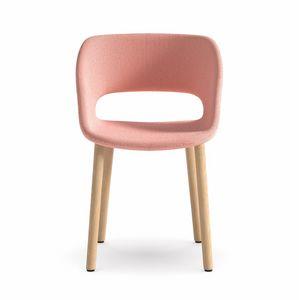 Kabira 4WL, Sedia in legno da design ricercato