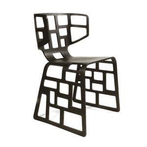 Immagine di Ol�, sedie lineari legno