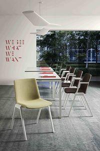 Jubel, Comfortevole sedia dal design minimale