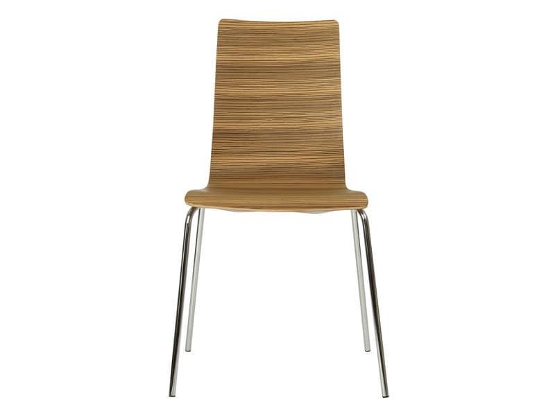 Sedute sedie moderne design metallo legno idf for Sedie contemporanee
