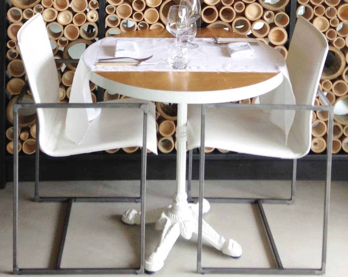 Comoda sedia con braccioli per ristoranti eleganti for Sedia design comoda