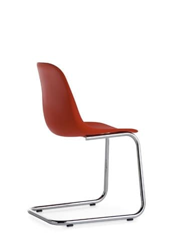 Sedia leggera con base cantilever idfdesign - Sedia cantilever ...