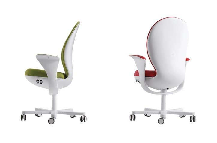 BEA, Sedia operativa da ufficio, ricca di regolazioni ergonomiche
