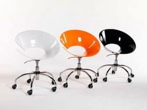 Immagine di Diva/GR, sedie design ufficio
