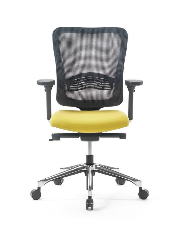sedia ufficio con schienale in rete e alzata a gasForSedia Ufficio Black Friday