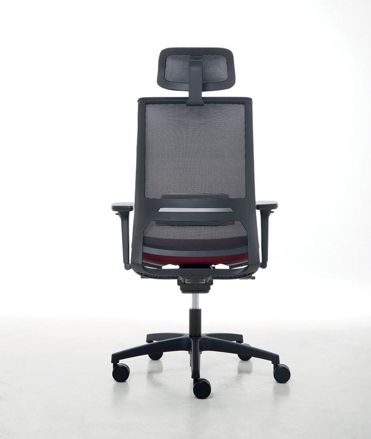 Logica 01 PT, Sedia operativa per uffici moderni