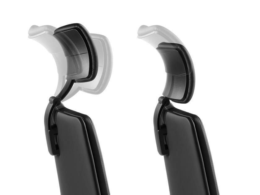 PROGRESS, Poltrona direzionale con poggiatesta, braccioli regolabili