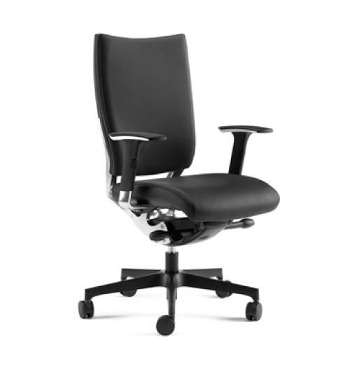 SHINE, Poltrona semidirezionale con sedile e schienale imbottito