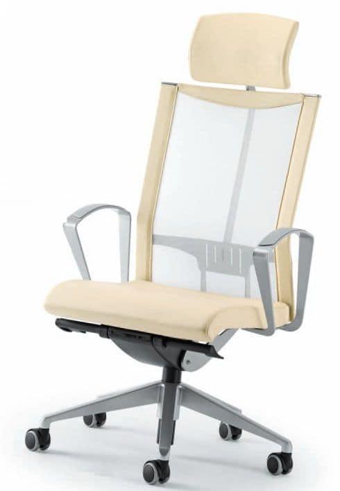 sedie ufficio, sedie ufficio direzionali - AVIANET 3624 TXC