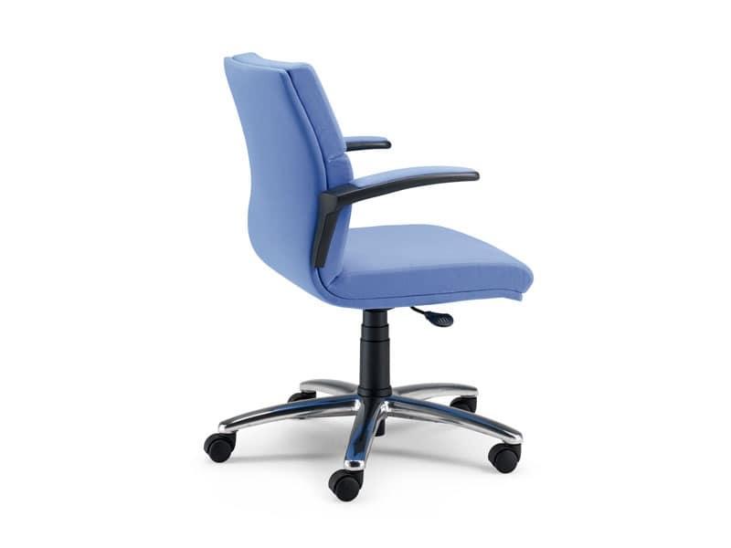 Sedute sedie ufficio presidenziali idf for Poltrone direzionali ufficio