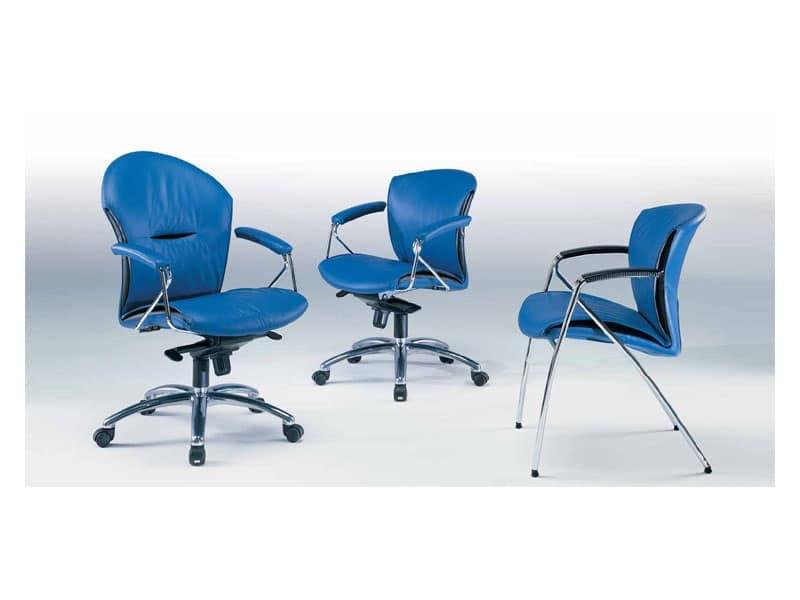 Sedie ufficio ergonomiche Ufficio professionale  IDFdesign