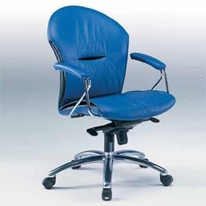 Sedie ufficio ergonomiche cherie a for Sedie ufficio ergonomiche