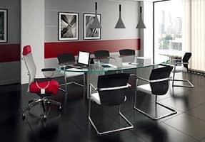 Ego Lux presidenziale 53402, Poltrona ergonomica per uffici, con poggiatesta