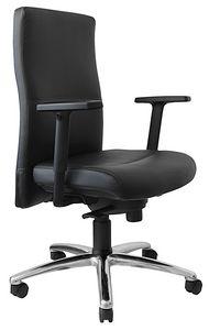 Futura media, Sedia ufficio con meccanismo syncro, ergonomica