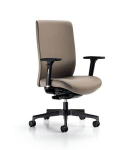 Glamour 2150, Sedia da ufficio, con regolazioni ergonomiche