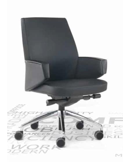Grey-D, Poltrona ufficio girevole
