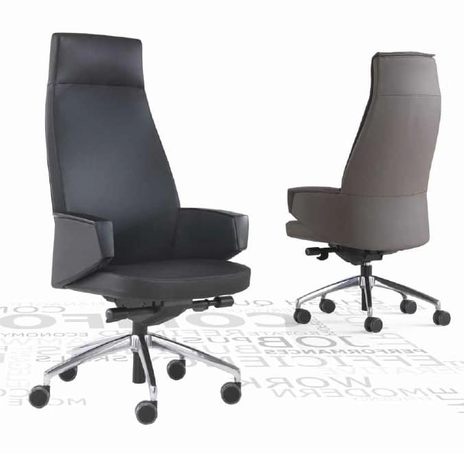 Grey-P, Poltrona direzionale per ufficio