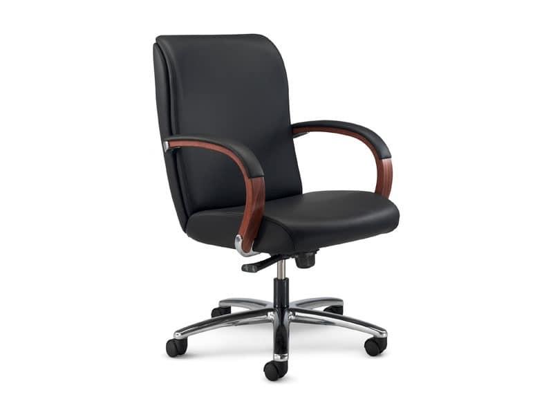 Sedute sedie ufficio presidenziali idf for Design ufficio srl