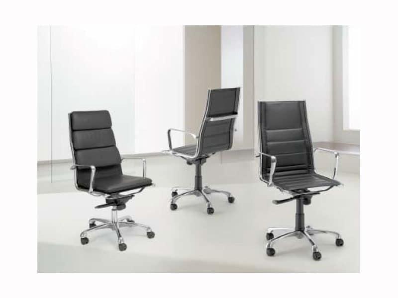 Light a upholstered poltrone direzionali direzione for Poltrone ufficio direzionali
