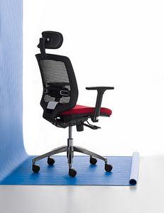 New Malice 01 PT, Sedia manageriale per Studio professionale, ergonomica