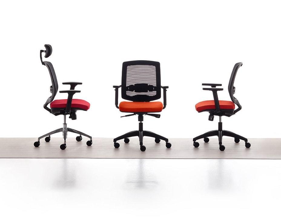Sedia manageriale per studio professionale ergonomica for Sedie direzionali per ufficio