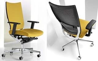 Sedie Ufficio Professionali : Sedia regolabile telaio in alluminio per studio professionale
