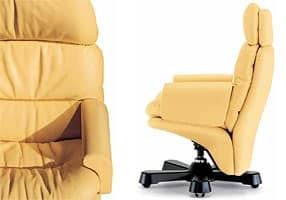 Sedie Ufficio Professionali : Poltrona su ruote ufficio professionale idfdesign