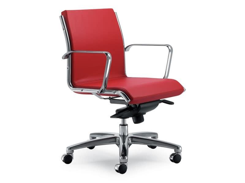 Uf 1145 b sedia ufficio presidenziale studio for Sedia ufficio basculante