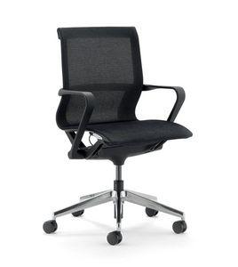 UF 548 / B, Sedia da ufficio con schienale basso