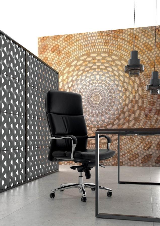 Sedia con ruote per ufficio seduta ergonomica imbottita for Amazon sedie ufficio