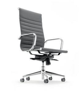 UF 597 / A, Sedia con schienale alto per ufficio direzionale