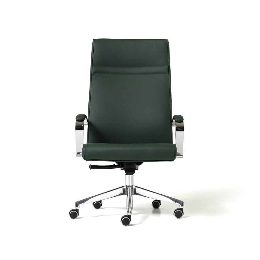 Sedie Ufficio Professionali : Sedia con 5 razze ergonomica per studio professionale idfdesign