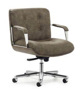 Vintage 4001, Poltrona ufficio con schienale basso