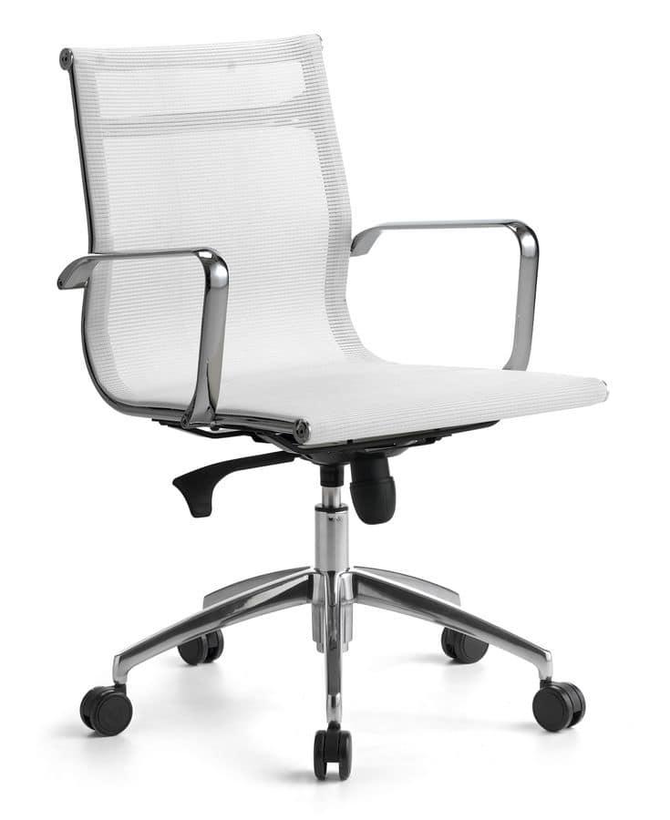 Sedie Ufficio Manzano.Sedia Direzionale Per Ufficio Su Ruote Meccanismo
